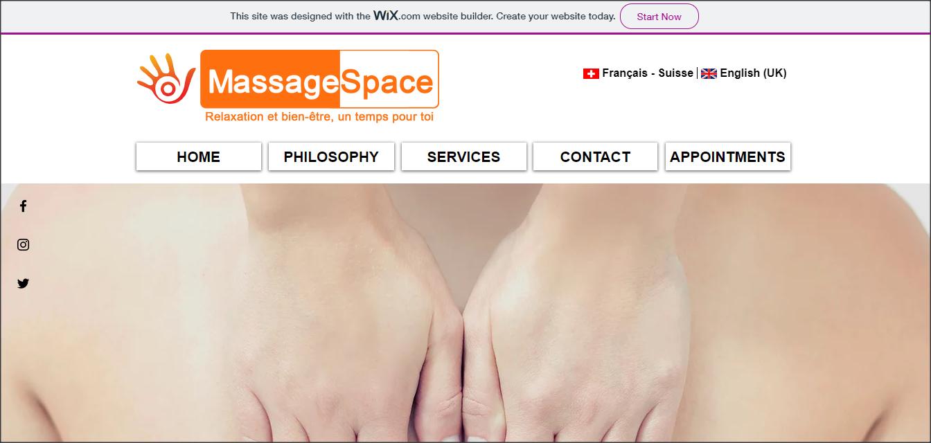 Étude De Cas MassageSpace.ch