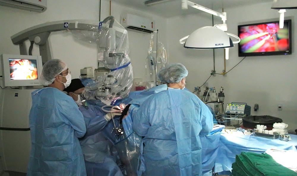 Centro cirúrgico Hospital de Base