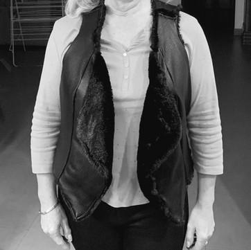 Regina's reversible jacket