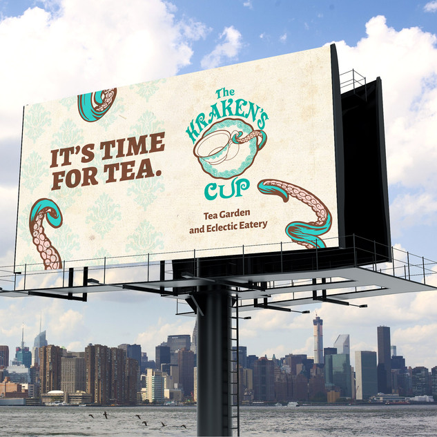 The Kraken's Cup logo