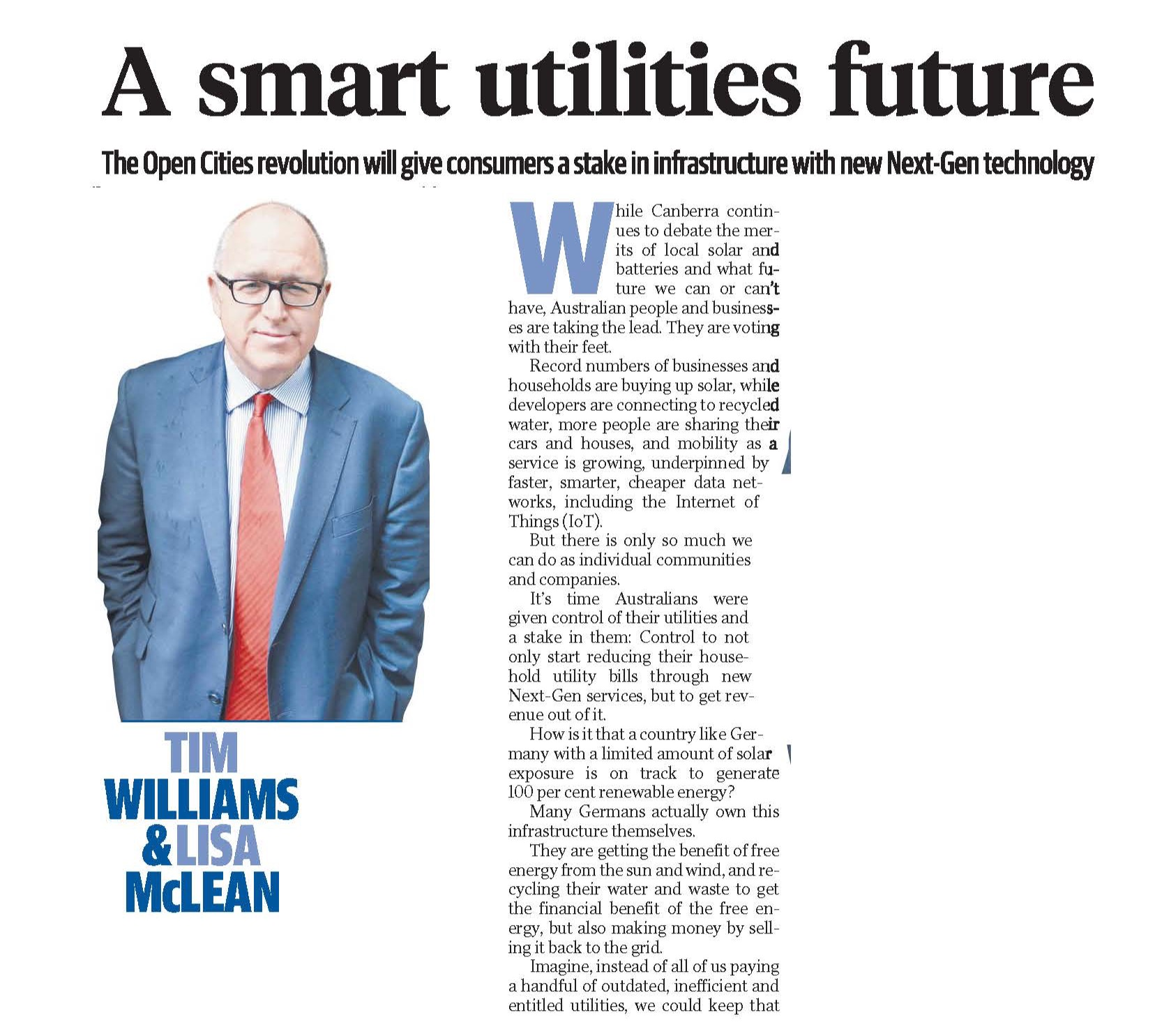 The Daily Telegraph Opinion p1/2