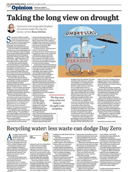 SMH Opinion Water Recycling