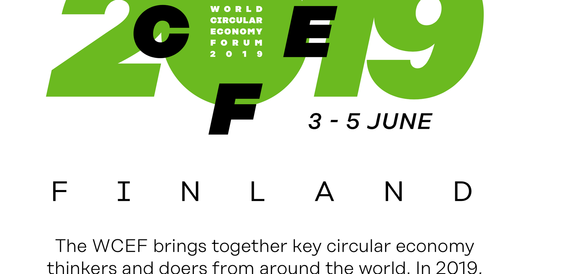 World Circular Economic Forum 2019