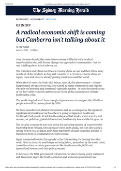 A radical economic shift is coming but C