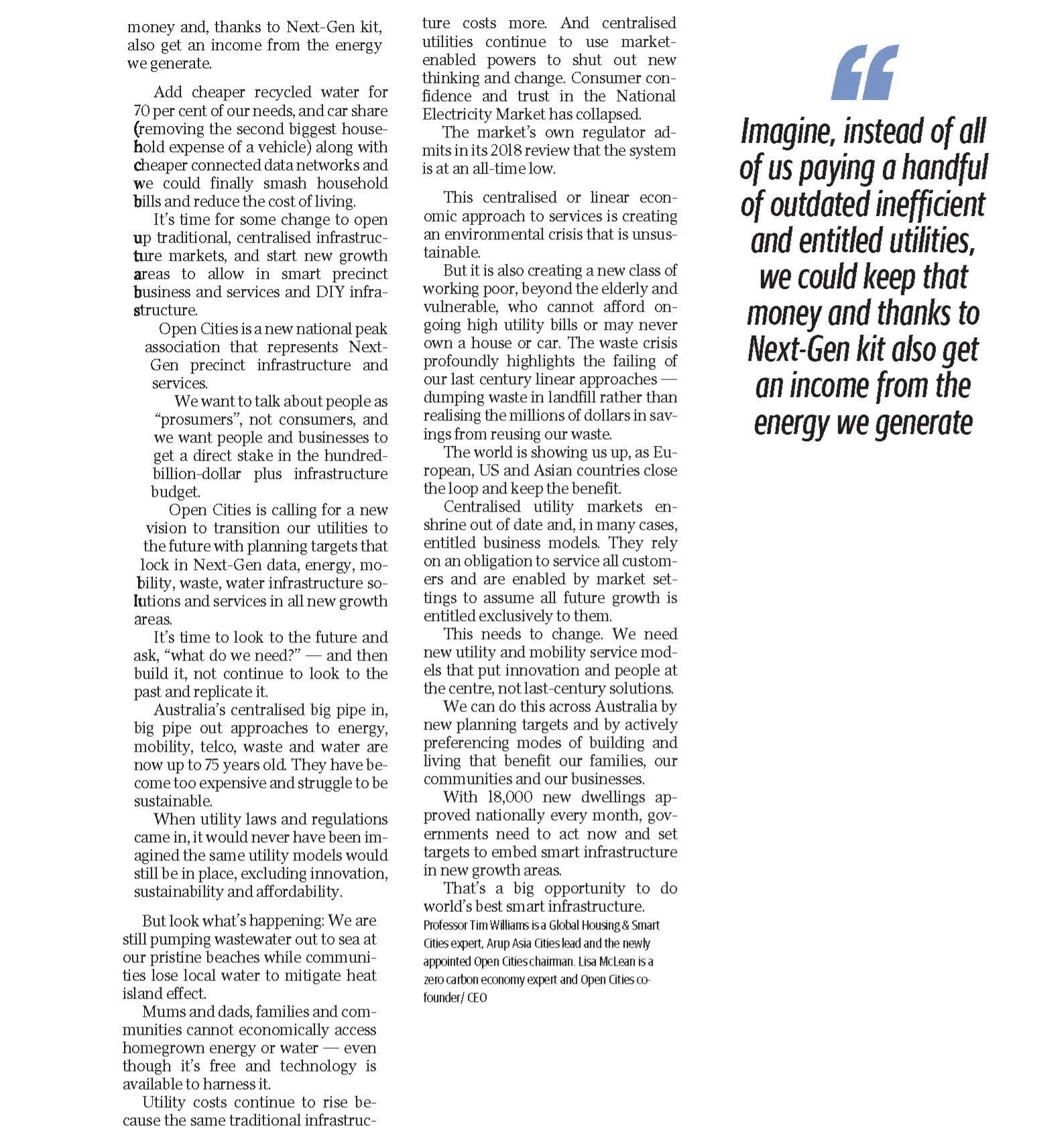 The Daily Telegraph Opinion p2/2