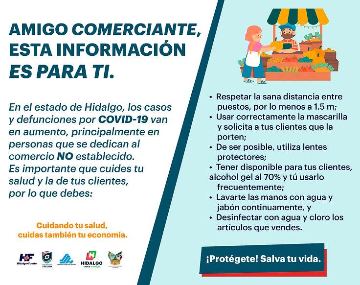 CARTEL DIGITAL COMERCIO NO  ESTABLECIDO