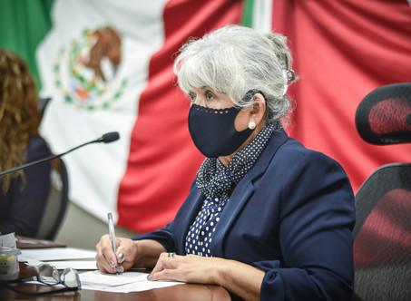 EN COMPARECENCIA, MARÍA TEODORA ISLAS CUESTIONA LA PARTICIPACIÓN CIUDADANA Y EL COSTO DEL PLAN