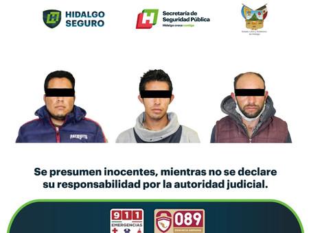 Con varias dosis de presunta droga sintética, detenidos individuos en operativo metropolitano