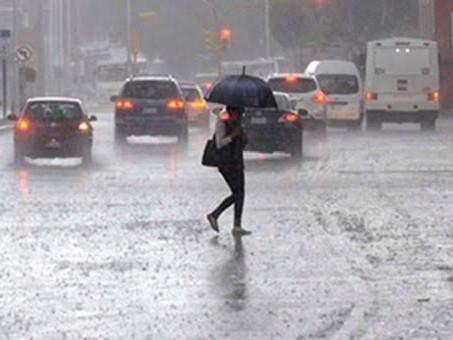 En regiones de Chiapas, Jalisco y Nayarit, se prevén hoy lluvias intensas, descargas eléctricas