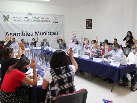 En sesión municipal se aprobó la creación del premio municipal de la juventud