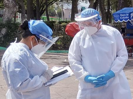 Suma Hidalgo 10,275 casos de Covid-19 y 1,607 defunciones