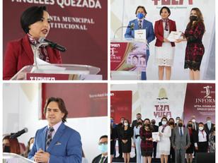 CORTAMOS DE TAJO LA CORRUPCIÓN, HOY TENEMOS CONFIANZA Y RESPALDO POPULAR: SUSANA ÁNGELES QUEZADA