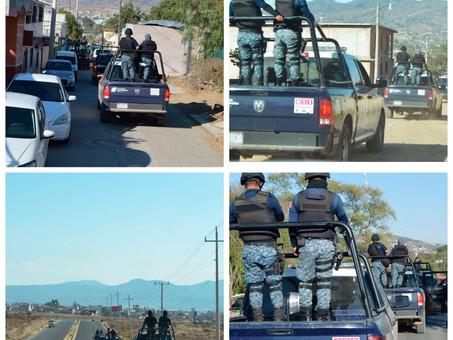 Policía Estatal continúa acciones de prevención en Cuautepec