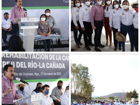 OBRA PÚBLICA ES LA PALANCA DEL DESARROLLO: FAYAD