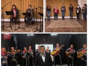 En UAEH, noche mexicana con mariachi y homenaje a Miguel Hidalgo