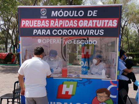 4,224 casos de Covid-19 y 714 defunciones en Hidalgo