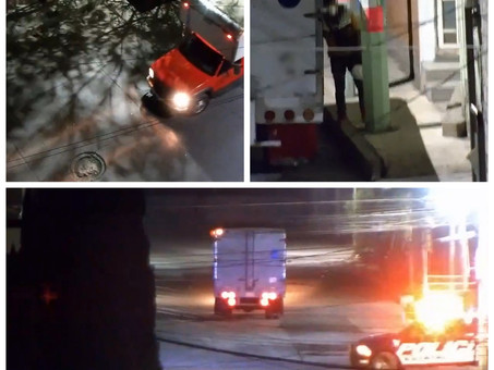 Con videovigilancia, frustran Policía Estatal y C5i Hidalgo robo de camioneta de carga