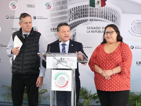 IMPULSAN SENADORES DE MORENA REFORMA CONSTITUCIONAL PARA PROTEGER A CIUDADANOS QUE ALERTEN SOBRE ACT