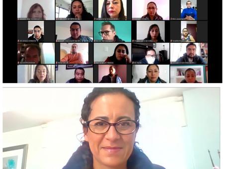 Concluye IEEH primera capacitación virtual para  integrantes de los 18 Distritos Locales Electorales