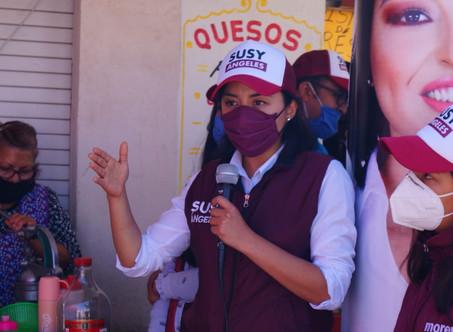 En el gobierno municipal de Tizayuca no seremos comparsas de la impunidad: Susy Ángeles