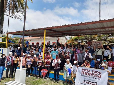 SAN BARTOLO TUTOTEPEC SE SUMA AL PROYECTO DE TRANSFORMACIÓN DE ISABEL  ALFARO