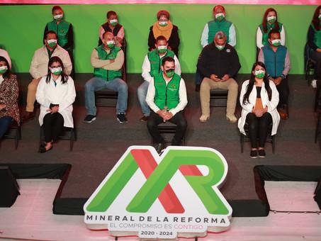A partir del martes, multas a quienes no usen cubrebocas en Mineral de la Reforma