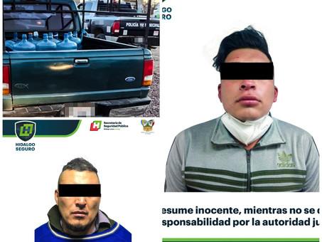 Dos detenidos por C5i y Policía Estatal  en operativos contra el robo de autos