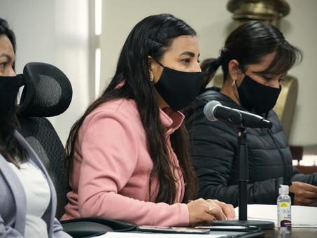 Promueve Jazmín Calva que los agresores por violencia familiar, sexual, contra las mujeres