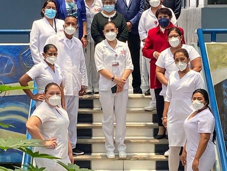 Brinda UAEH capacitación a miembros del Ministerio de Salud de Nicaragua