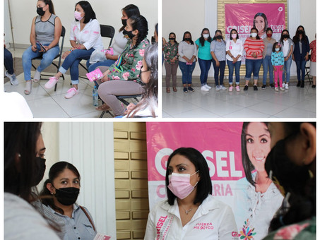 """Fuerza por México Hidalgo """"Las mujeres unidas y organizadas podemos lograrlo"""": Grisel Chavarría"""