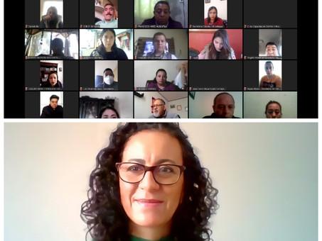 En modalidad virtual, comienza IEEH Primera Capacitación integrantes de los 18 Consejos Distritales
