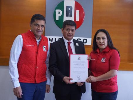Aureliano Juárez González, como titular de la Secretaría Jurídica y de Transparencia