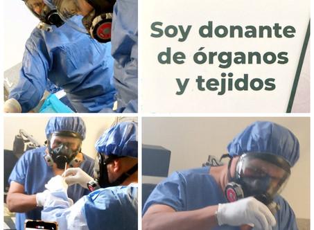 REACTIVA EL ISSSTE PROGRAMA INSTITUCIONAL DE DONACIÓN DE ÓRGANOS Y TEJIDOS EN NUEVA NORMALIDAD