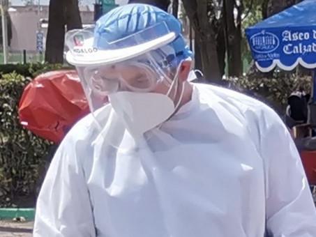 Suma Hidalgo 9,218 casos de Covid-19 y 1,428 defunciones