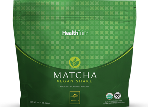 HealthTrim Matcha Vegan Shake