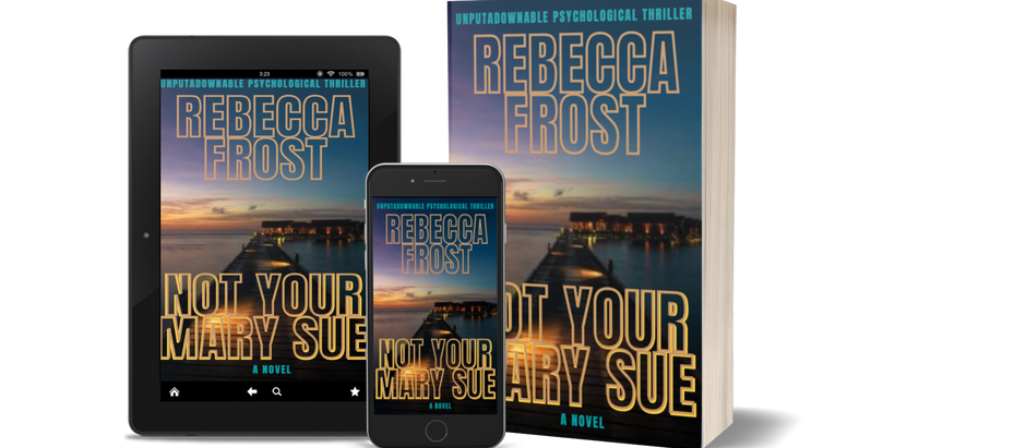 Not Your Mary Sue COVER REVEAL-Aesthetic Press