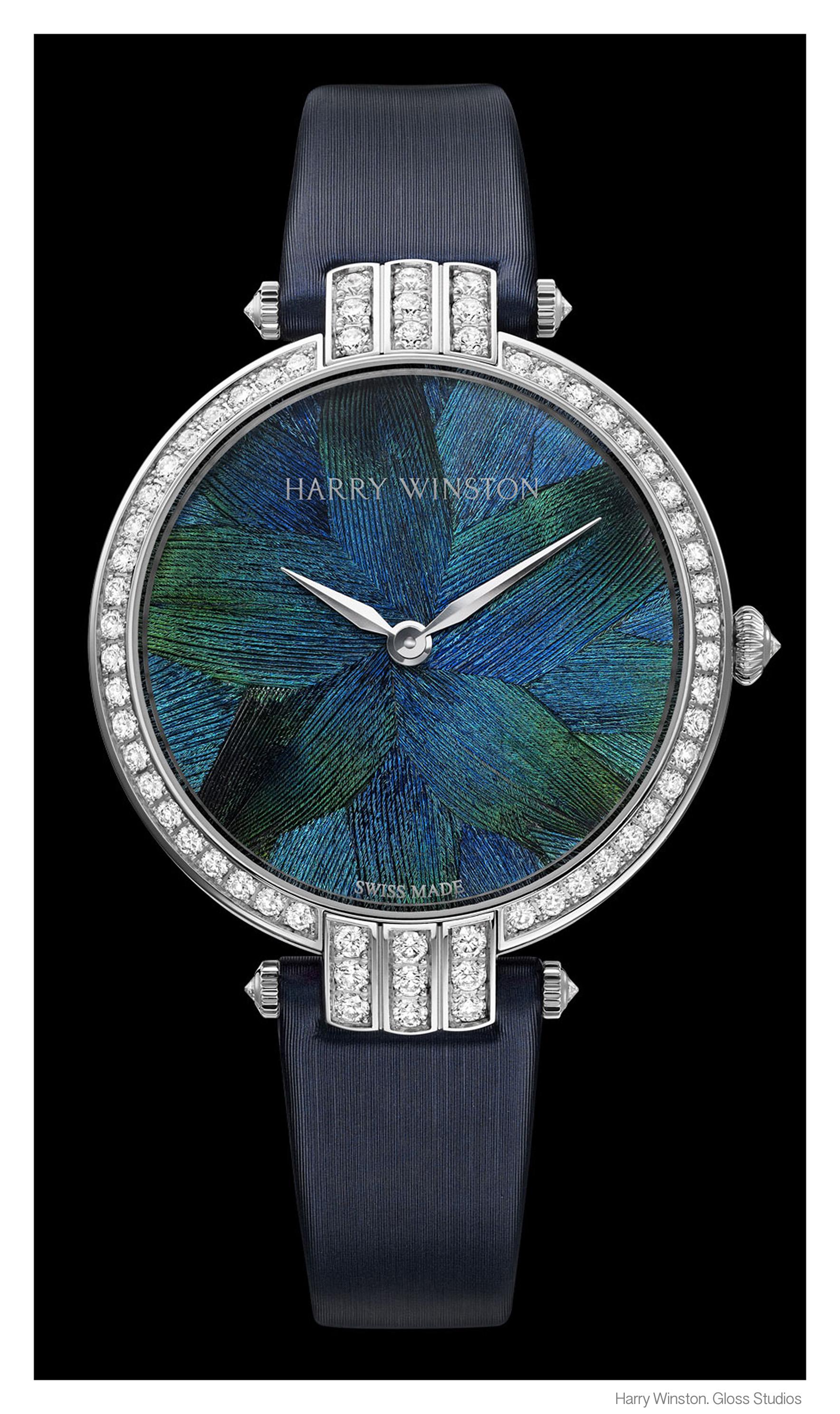 Harry Winston Peacock Watch
