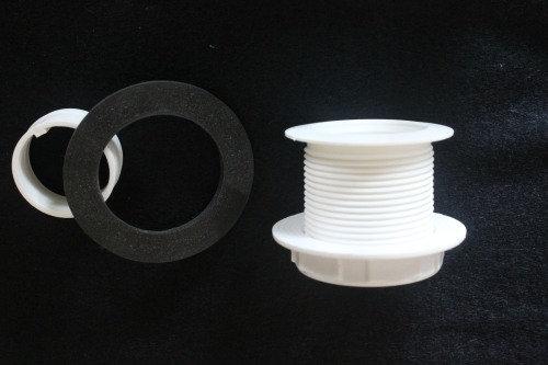 """Waste Outlet Short (D 1.3/4"""") 45mm x L 45mm"""