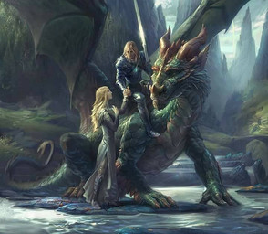 Nain, Elfes, Dragons, Colombe