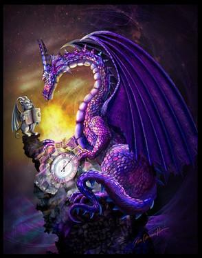 l'incendie de Notre Dame de Paris vu par les Dragons