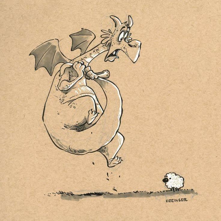 illustration de Brian Kesinger