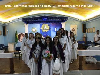 A Bahia presta homenagem a Mãe Mick pelo seu aniversário