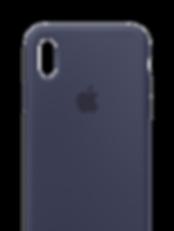 iPhoneX-2017-Silicone-MidnightBlue-SCREE