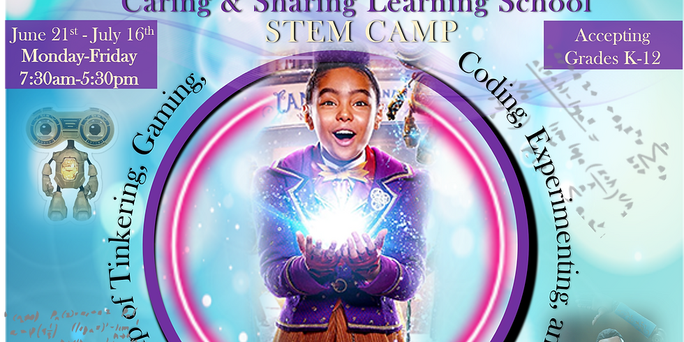 Jingle Jangle: Caring and Sharing STEM Camp
