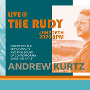 webpage LIVE AT THE RUDY_Andrew Kurtz We