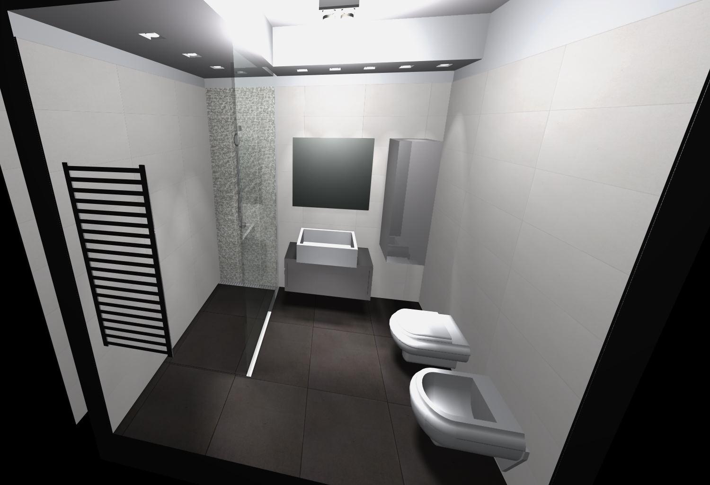bagno piccolo 3d