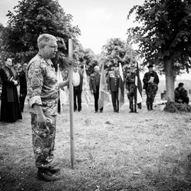 Reburial of Soviet Soldiers