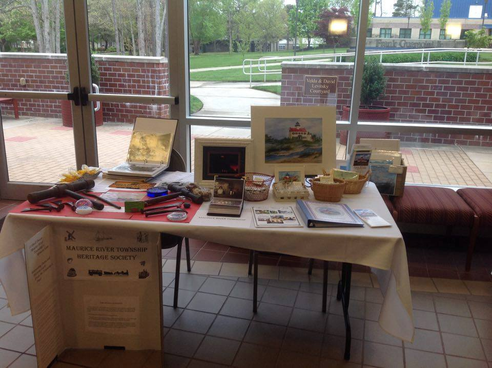 Display Table at Cumberland County
