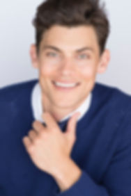 Actor Headshot, Nick Lacy
