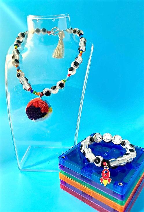 Branch Bracelet & Necklace Set